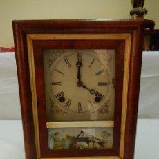 Relojes de carga manual: RELOJ AMERICANO. FUNCIONA, EN ESTADO DE MARCHA.. Lote 54715043