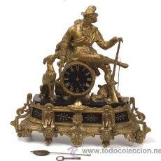 Relojes de carga manual: RELOJ FRANCES EN CALAMINA. Lote 54771380