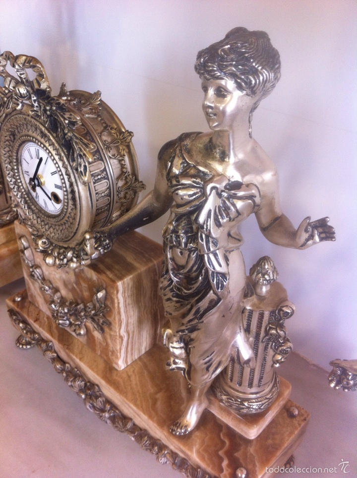 Relojes de carga manual: RELOJ Y CANDELABROS - Foto 6 - 54927606