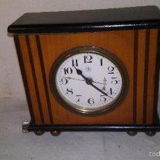 Relojes de carga manual: L150 ANTIGUO Y ELEGANTE RELOJ SOBREMESA DE P.P.S.XX 1915/20, A CUERDA, 4X10X12. Lote 55384236
