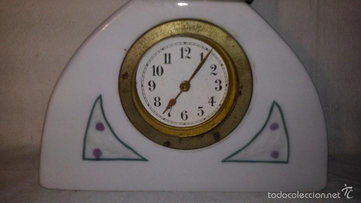 Relojes de carga manual: L150 ANTIGUO Y ELEGANTE RELOJ SOBREMESA ORIGINAL EPOCA ART-DECO, FUNCIONAMIENTO A CUERDA, 5x16 - Foto 3 - 55384856