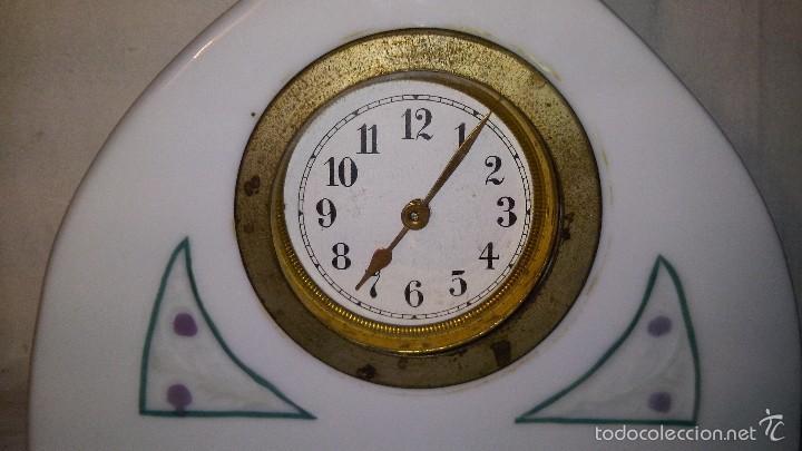 Relojes de carga manual: L150 ANTIGUO Y ELEGANTE RELOJ SOBREMESA ORIGINAL EPOCA ART-DECO, FUNCIONAMIENTO A CUERDA, 5x16 - Foto 4 - 55384856