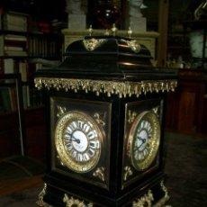 Relojes de carga manual: RELOJ DE SOBREMESA ANTIGUO DE 4 ESFERAS MARCA MARC. Lote 56036844