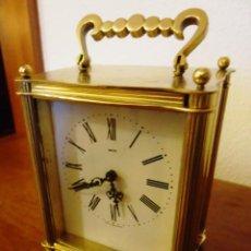 Relojes de carga manual: RELOJ INGLES EN BRONCE NAVAL SMITHS A CUERDA ,8 DIAS,ANTIGUO REVISADO Y FUNCIONANDO,PULIDA EL BRONCE. Lote 56043984
