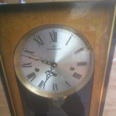 Relojes de carga manual: RELOJ DE PARED SONORO DE TRES CUERDAS MARCA DICENTI ALEMAN. Lote 56045289
