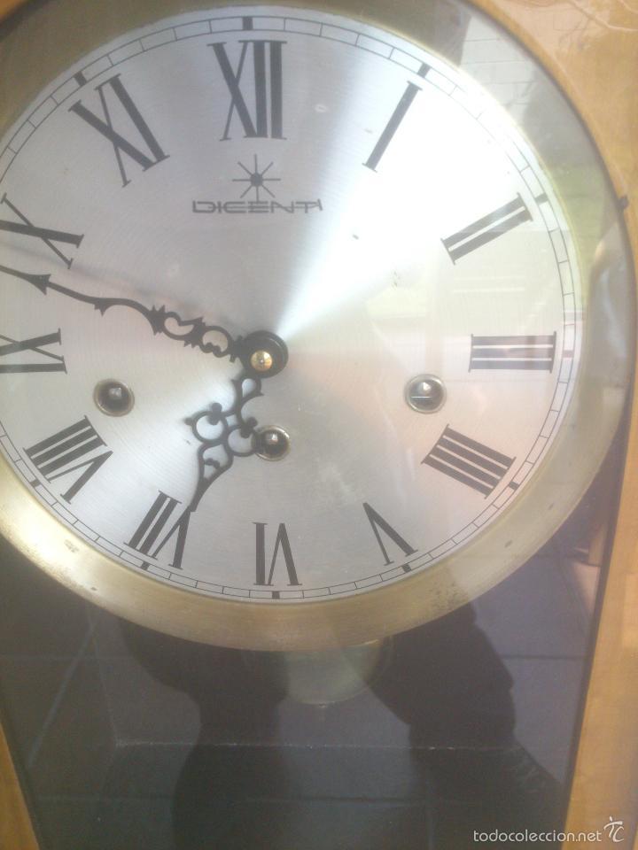 Relojes de carga manual: RELOJ DE PARED SONORO DE TRES CUERDAS MARCA DICENTI ALEMAN - Foto 2 - 56045289