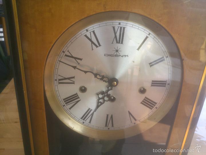 Relojes de carga manual: RELOJ DE PARED SONORO DE TRES CUERDAS MARCA DICENTI ALEMAN - Foto 3 - 56045289