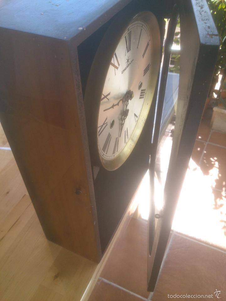 Relojes de carga manual: RELOJ DE PARED SONORO DE TRES CUERDAS MARCA DICENTI ALEMAN - Foto 7 - 56045289