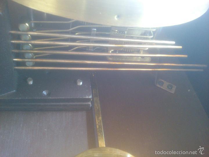 Relojes de carga manual: RELOJ DE PARED SONORO DE TRES CUERDAS MARCA DICENTI ALEMAN - Foto 9 - 56045289