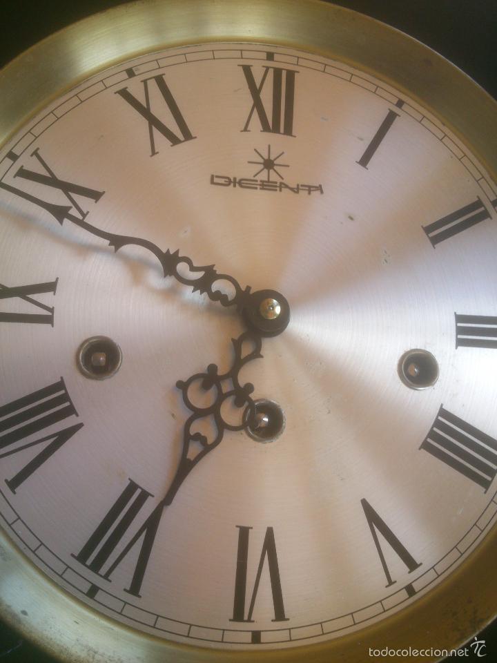 Relojes de carga manual: RELOJ DE PARED SONORO DE TRES CUERDAS MARCA DICENTI ALEMAN - Foto 11 - 56045289