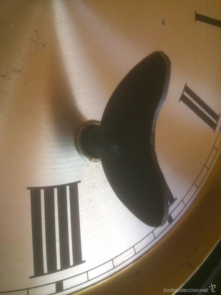 Relojes de carga manual: RELOJ DE PARED SONORO DE TRES CUERDAS MARCA DICENTI ALEMAN - Foto 12 - 56045289