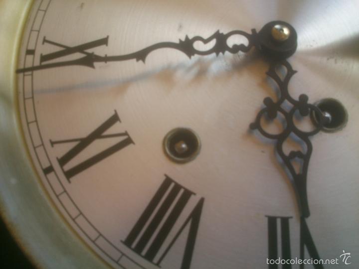 Relojes de carga manual: RELOJ DE PARED SONORO DE TRES CUERDAS MARCA DICENTI ALEMAN - Foto 13 - 56045289