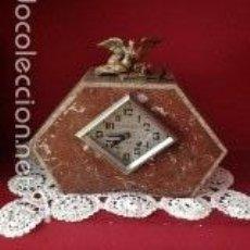 Relojes de carga manual: RELOJ DE MÁRMOL ART DECO. Lote 56335561