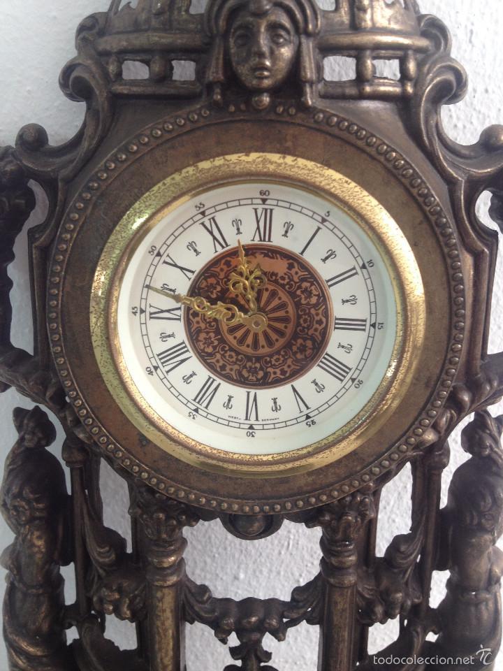 Relojes de carga manual: RELOJ Y DOS CANDELABROS - Foto 7 - 56871078