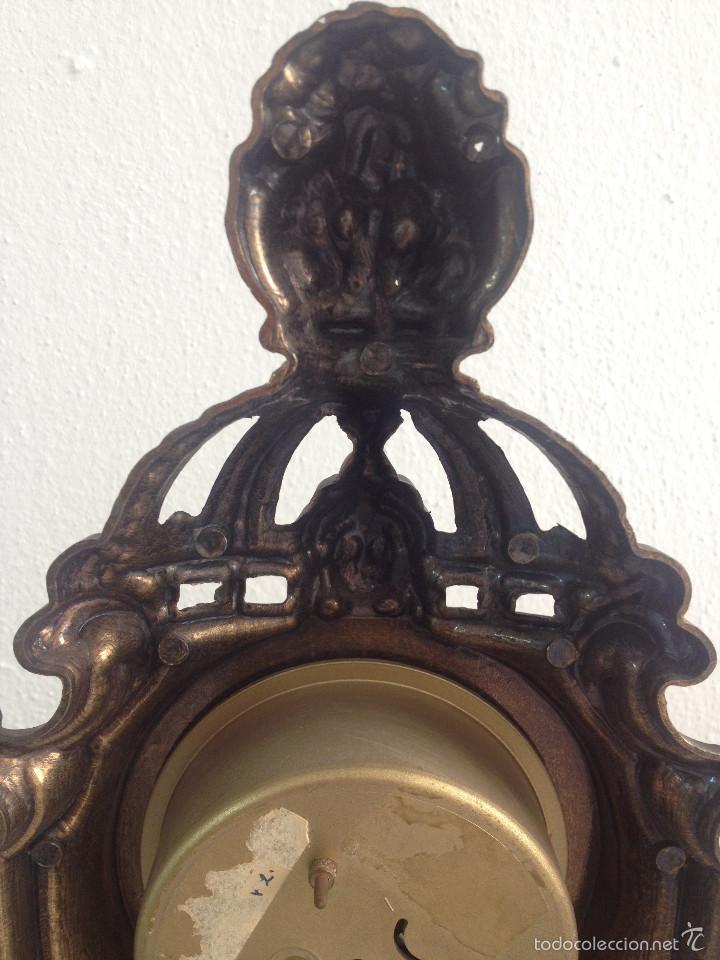 Relojes de carga manual: RELOJ Y DOS CANDELABROS - Foto 10 - 56871078