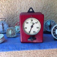Relojes de carga manual: COLECCIÓN TEMPORIZADORES (TEMPORIZADOR CUENTA ATRÁS). Lote 56915599