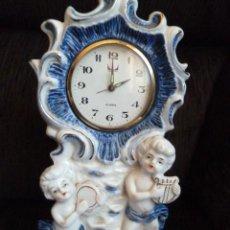 Relojes de carga manual: RELOJ MADE IN JAPAN PORCELANA. Lote 57207288