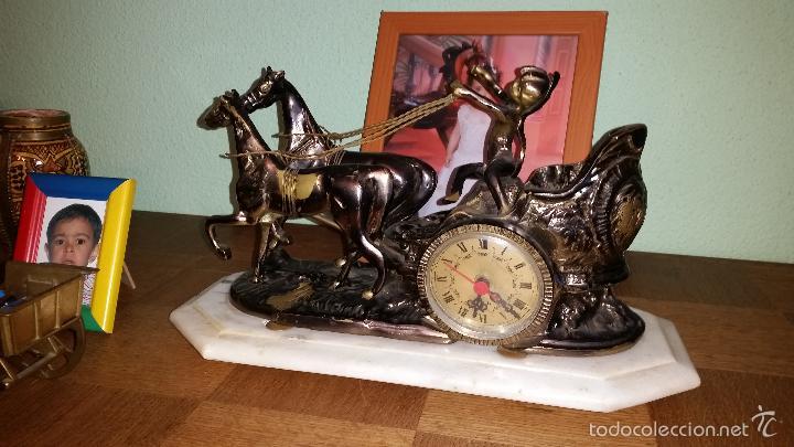 Relojes de carga manual: RELOJ DE BRONCE - Foto 2 - 57519588