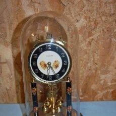 Relojes de carga manual: RELOJ 400 DÍAS EN URNA DE CRISTAL. Lote 57743002