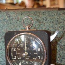 Relojes de carga manual: ANTIGUO RELOJ SMITHS INTERVAL TIMES, PARA FOTÓGRAFOS, FUNCIONANDO, MUY BUEN ESTADO, AÑOS 40.. Lote 58064277
