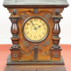 Relojes de carga manual: RELOJ DE SOBREMESA EN MADERA. MAQUINARIA PARIS CON CAJA DE MUSICA. SIGLO XIX-XX.. Lote 58105792