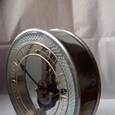 Relojes de carga manual: RELOJ AÑOS 10-20 ESQUELETO MAQUINARIA VERTICAL DE SOBREMESA. Lote 58136341