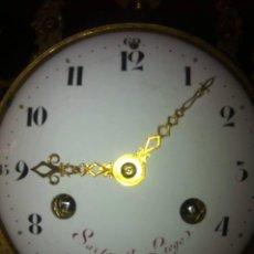 Relojes de carga manual: RELOJ SOBREMESA FRANCIA SIGLO XVIII C.1760 HUBERT SARTON (1748 / 1828,LIÉGE BELGICA).. Lote 56959597