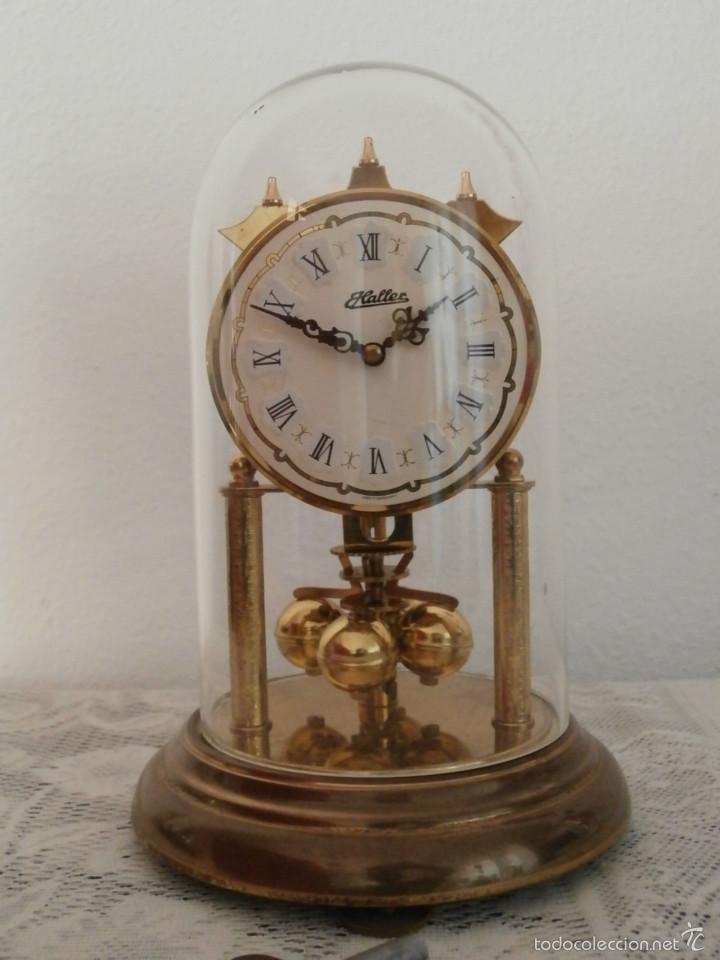 Antiguo reloj mesa mec nico alem n de cuerda qu comprar - Relojes decorativos de mesa ...