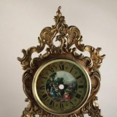 Relojes de carga manual: CAJA DE RELOJ MARCA EBORI DE BRONCE. TAMAÑO 39X18 CM. Lote 59160510