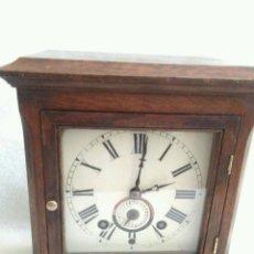 Relojes de carga manual: IMPRESIONANTE Y MUY RARO RELOJ DESPERTADOR DE CHIMENEA DE LA AFAMADA FABRICA W&H SCH P.V.P 530 EUR. Lote 59462580