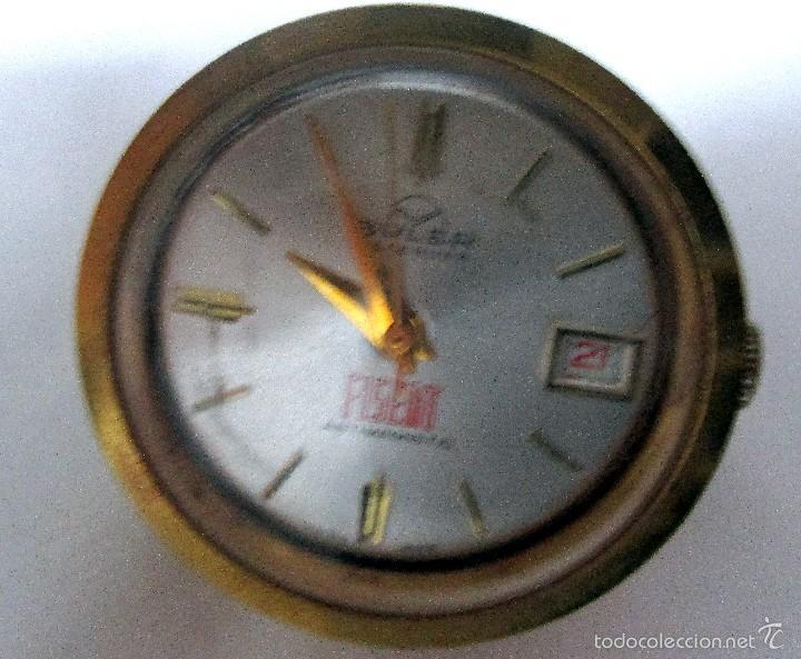 RELOJ BULER CALENDAR FISEAT ANTIMAGNETIC DESPACHO (Relojes - Sobremesa Carga Manual)