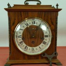 Relojes de carga manual: RELOJ DE SOBREMESA EN MADERA. MAQUINARIA CON CARRILLON. PRINCIPIOS SIGLO XX. . Lote 61233299