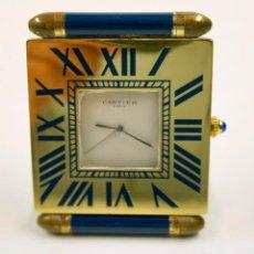 Relojes de carga manual: PEQUEÑO RELOJ CARTIER 5,5 X 7,5 CM. VER FOTOS ANEXAS.. Lote 61451047