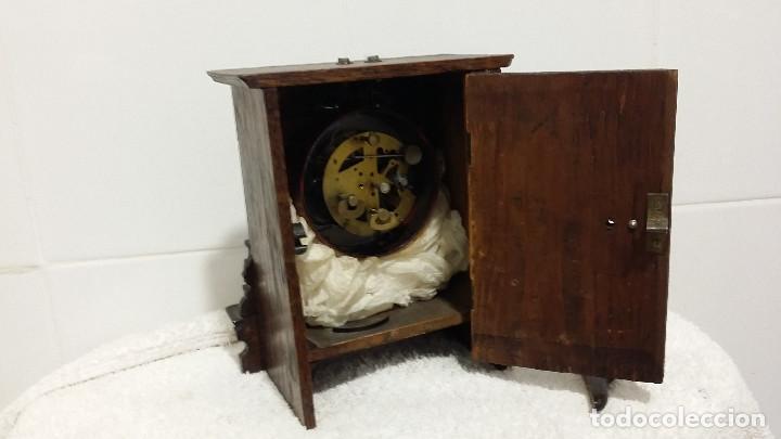 Relojes de carga manual: reloj de madera - Foto 3 - 62166588