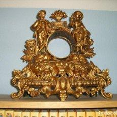 Relojes de carga manual: MUEBLE DE RELOJ PARA MAQUINA PARIS CON FIGURAS. Lote 62679904