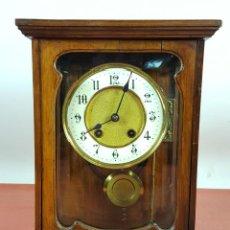 Relojes de carga manual: RELOJ DE SOBREMESA. MARCA PFEILKREUZ. MADERA DE NOGAL. ALEMANIA. SIGLO XIX-XX.. Lote 63285948