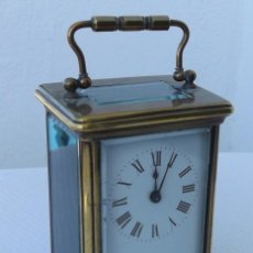 Relojes de carga manual: RELOJ DE CARRUAJE SIGLO XIX. Lote 63568732