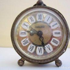 Relojes de carga manual: RELOJ DESPERTADOR BLESSING FUNCIONANDO TODO. Lote 64137663