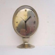 Relojes de carga manual: RELOJ DESPERTADOR SOBREMESA SWIZA 8 FUNCIONANDO TODO. Lote 64141471