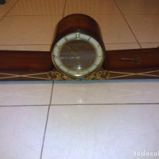 Relojes de carga manual: GRAN RELOJ DE SOBREMESA,CARRILLON(FUNCIONANDO BIEN). Lote 64890635