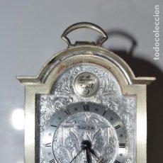 Relojes de carga manual: BONITO RELOJ ¨SWIZA¨, 8 DÍAS CUERDA, DESPIERTA, ORIGINAL, FUNCIONANDO, AÑOS 70.. Lote 65771374
