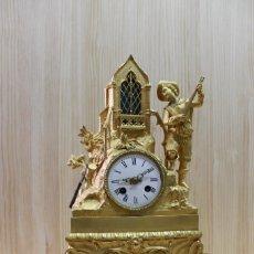 Relojes de carga manual: RELOJ DE BRONCE. Lote 65849642