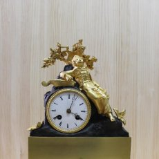 Relojes de carga manual: RELOJ DE BRONCE. Lote 65849774