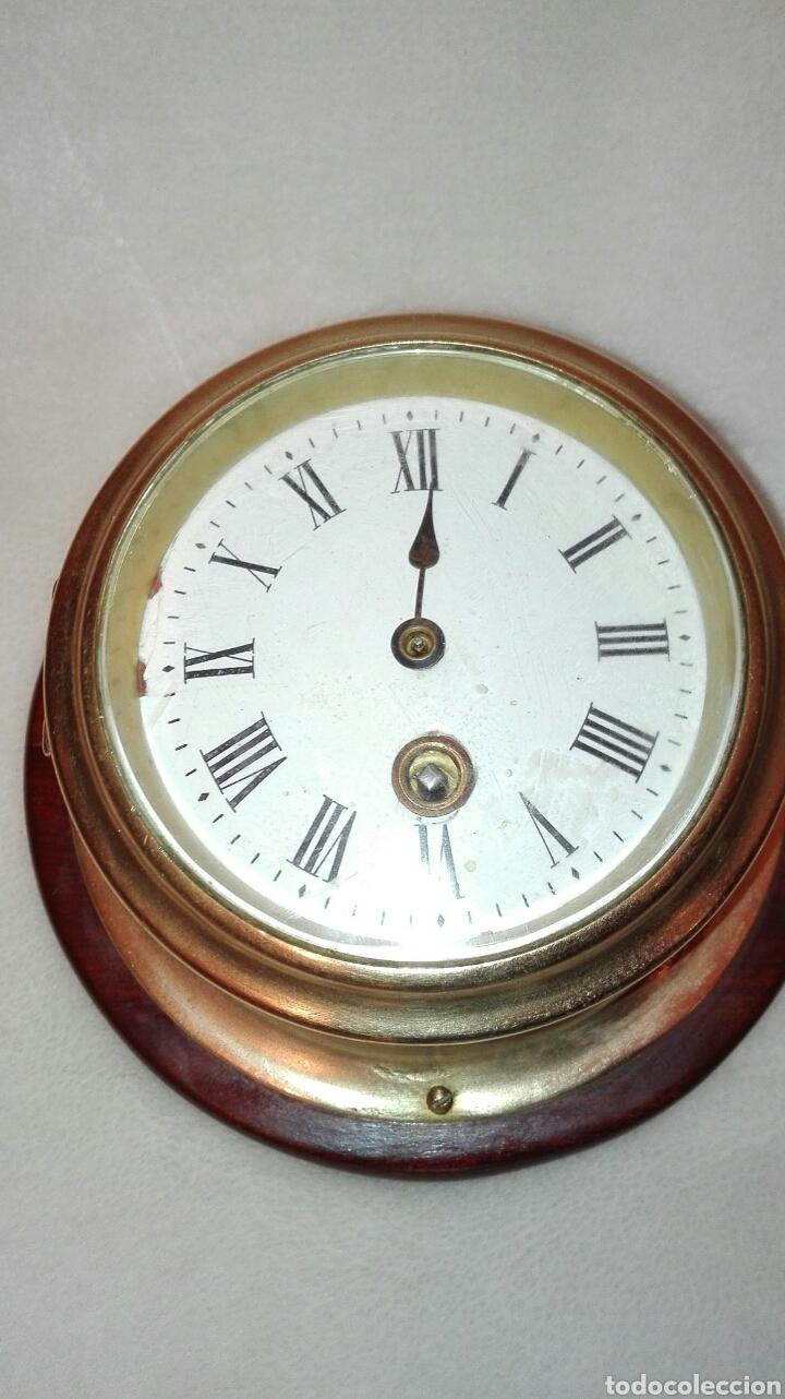 Antiguo reloj de barco con maquinaria francesa comprar - Relojes de sobremesa antiguos ...