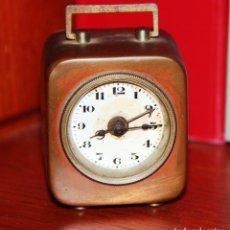 Relojes de carga manual: ANTIGUO RELOJ DESPERTADOR MINIATURA *. Lote 66915318
