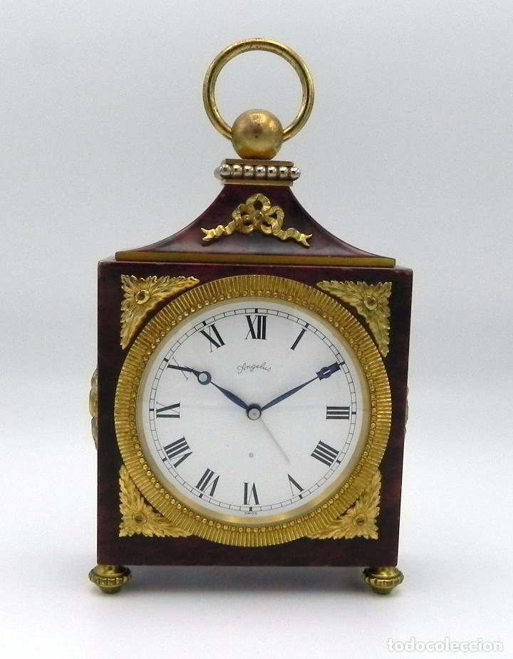 Con De Reloj Mesa Angelus Antiguo Soneria nO0wPk