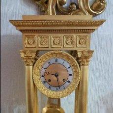 Relojes de carga manual: PRECIOSO RELOJ DE PÓRTICO DEL SIGLO XIX. Lote 68988945