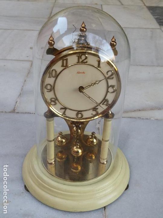 Antiguo y magn fico reloj de sobremesa marca ku comprar - Relojes de sobremesa antiguos ...
