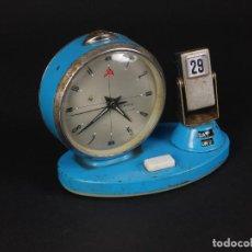 Relojes de carga manual: RELOJ DE SOBREMESA CALENDARIO. Lote 69515613
