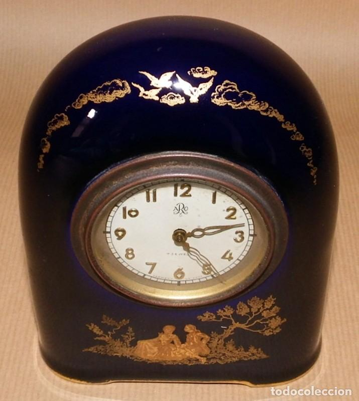 Relojes de carga manual: ANTIGUO RELOJ EN PORCELANA ROSENTHAL - Foto 2 - 70569489